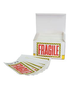 Fragile Stickers - Box of 500
