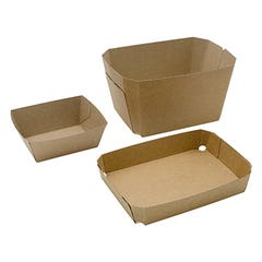 Solid Fibre Punnet And Trays