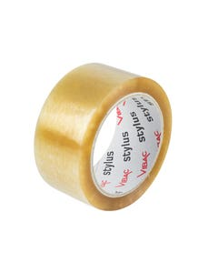 Rubber Tape - Clear - 48mm x 75m